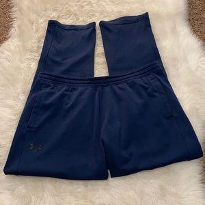 Under Armour Men's Pants Cold Gear Navy Size XXL